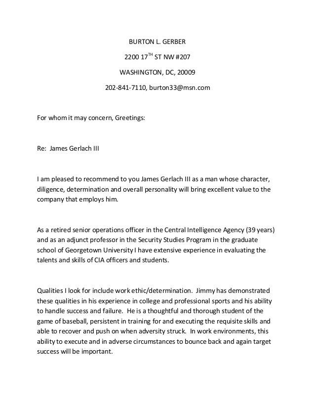 JGerlach Character Reference Letter