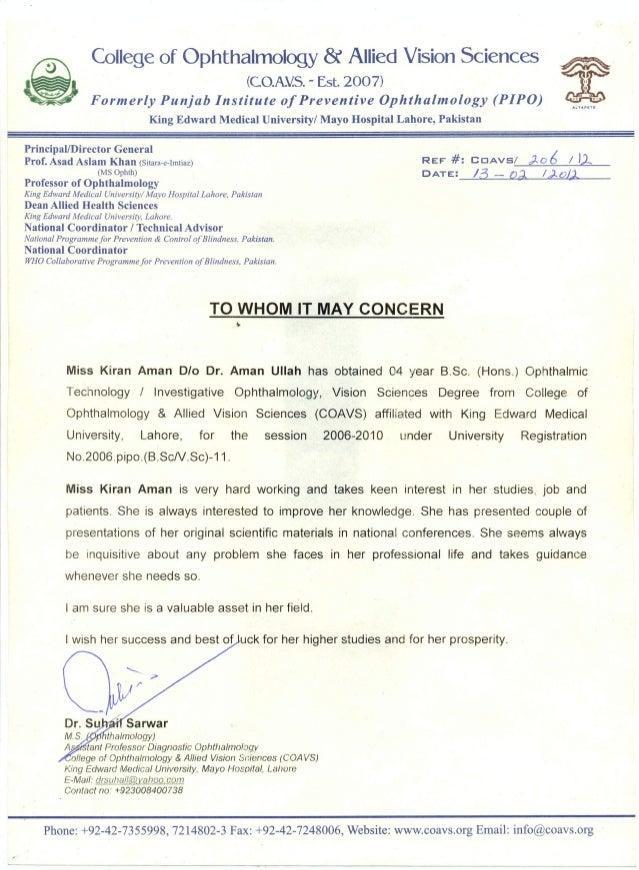 Reference Letter-Assissant Prof. Dr Suhail Sarwar-KEMU