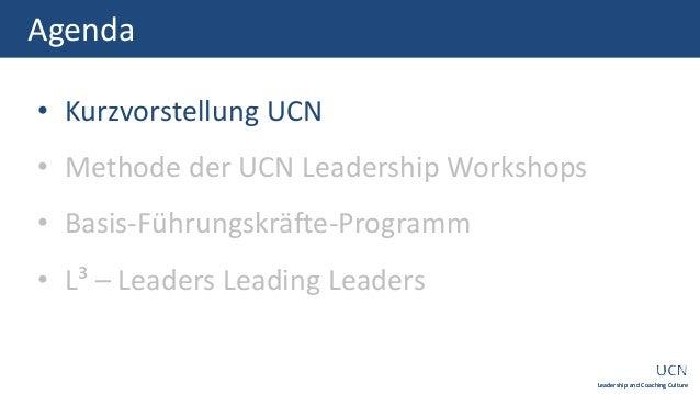 UCN + Leadership Workshops Slide 2