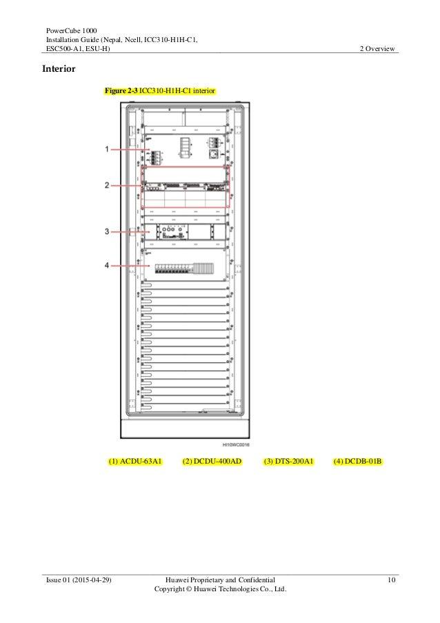 PowerCube 1000 V300R005C15 Installation Guide 01 (Nepal