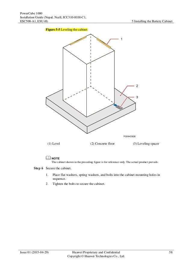 PowerCube 1000 V300R005C15 Installation Guide 01 (Nepal