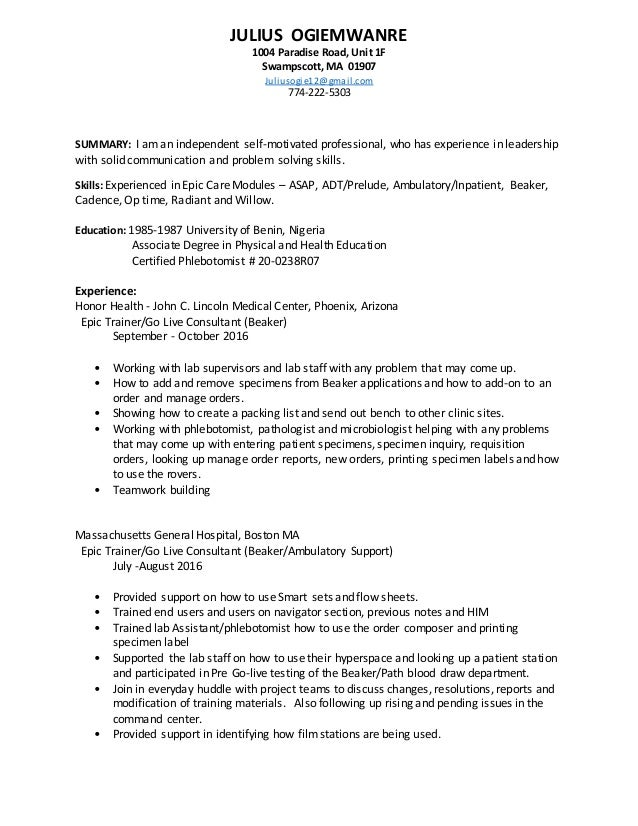 Live Center Resume Gallery Resume Format Examples 2018