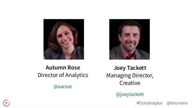 Creative + Analytics Webinar Slide 2
