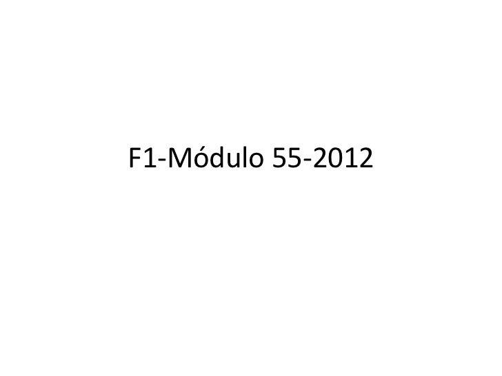 F1-Módulo 55-2012