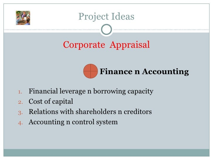 cost accounting project ideas