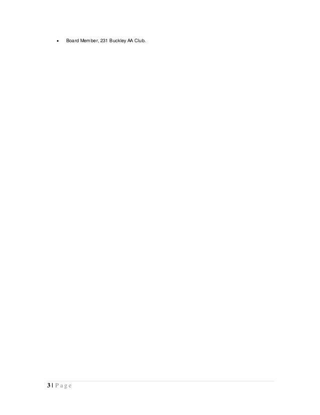 Sober Escort Resume 02.07.16