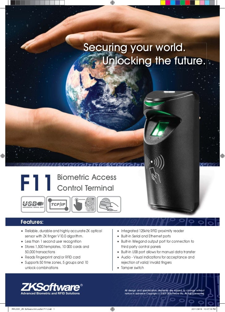 Securing your world.                                                      Unlocking the future.       F11                 ...