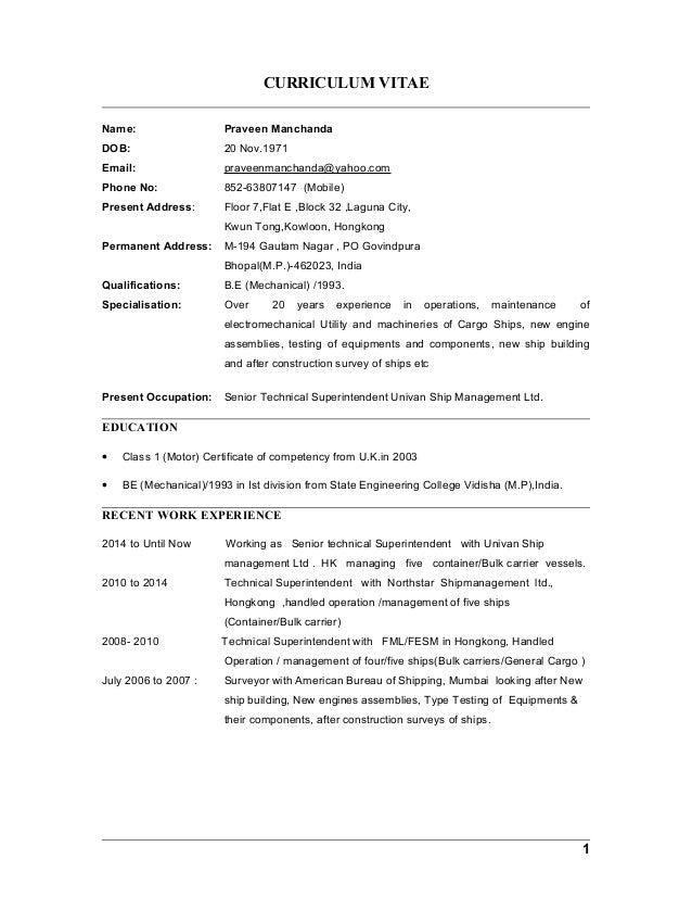 Luxury Anglo Eastern Ship Management Lebenslauf Model - FORTSETZUNG ...
