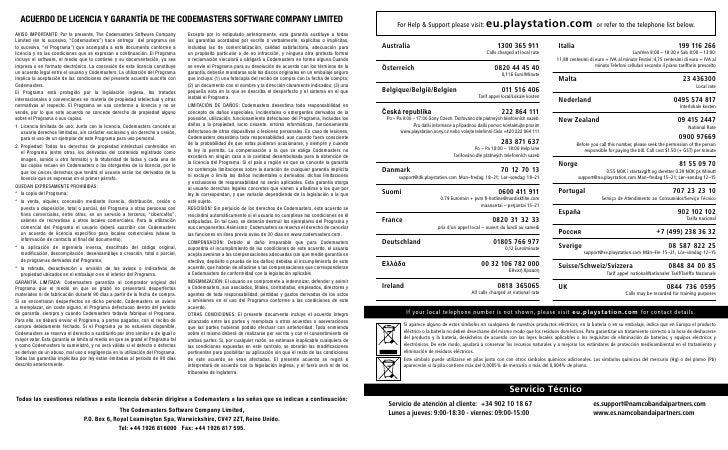 f1 2011 manual instrucciones ps3 rh es slideshare net PlayStation 3 Owners Manual manual de usuario playstation 3 pdf