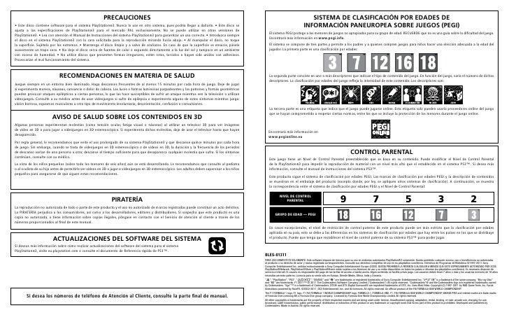 f1 2011 manual instrucciones ps3 rh es slideshare net manual de instrucciones de playstation 3 PlayStation 3 Remote