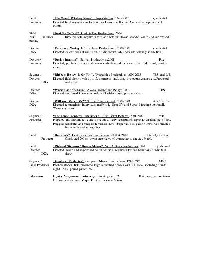 Best Oprah Winfrey Resume Gallery - Simple resume Office Templates .
