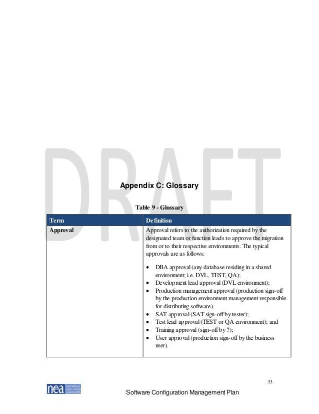 NEA Configuration Management Plan Version 1.1_Final