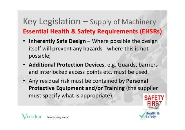 regulatory requirements and their impact on the design and equipment in health care State standards there are twenty-eight osha-approved state plans, operating state-wide occupational safety and health programsstate plans are required to have standards and enforcement programs that are at least as effective as osha's and may have different or more stringent requirements.