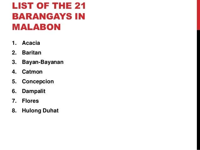 list of barangay officials in malabon