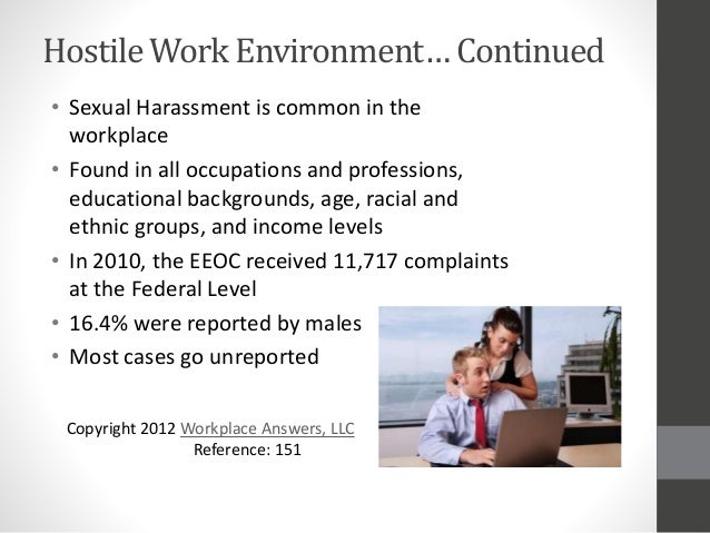 Hostile Work Environment Sexual Harassment