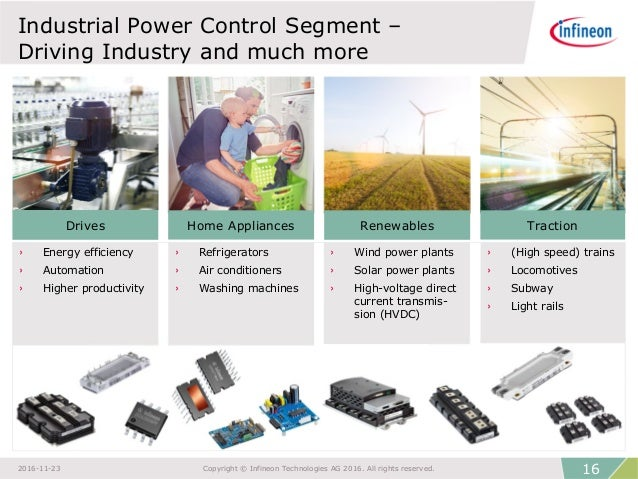 Infineon Technologies Company Presentation