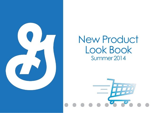 New Product Look Book Summer 2014