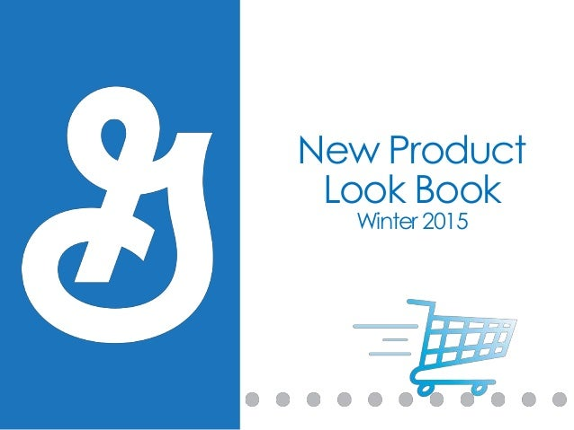 New Product Look Book Winter 2015