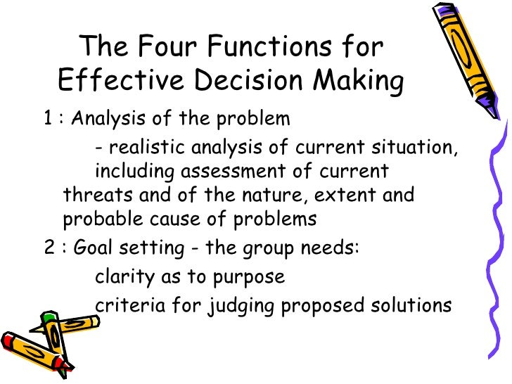 decision theory and phase 2018-7-18  the need for a decision arises in business because a manager is faced with a problem and alternative courses of action are available in deciding which option to choose he will need all the information which is relevant to his decision and he must have some criterion on the basis of which he can.