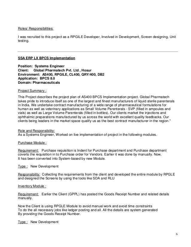 muthu resume