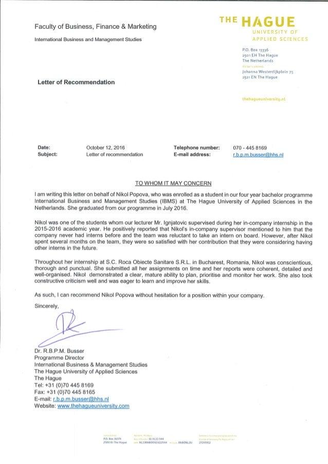 Nikol Popova- Recommendation Letter from Mr. Busser-IBMS programme director