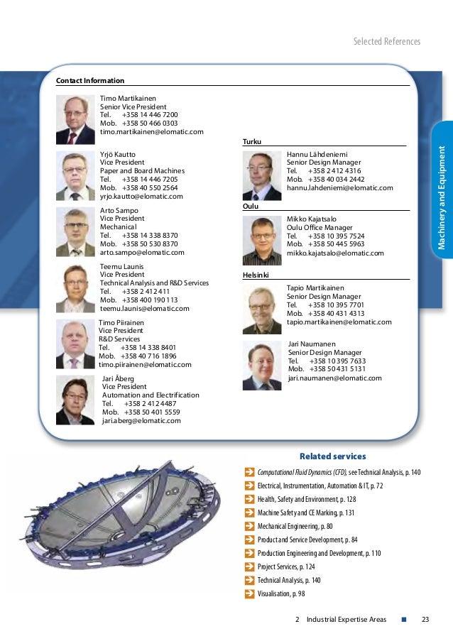 Elomatic Catalogue 2015
