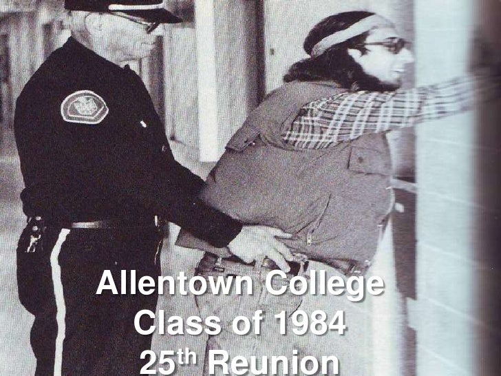Allentown College<br />Class of 1984<br />25th Reunion<br />