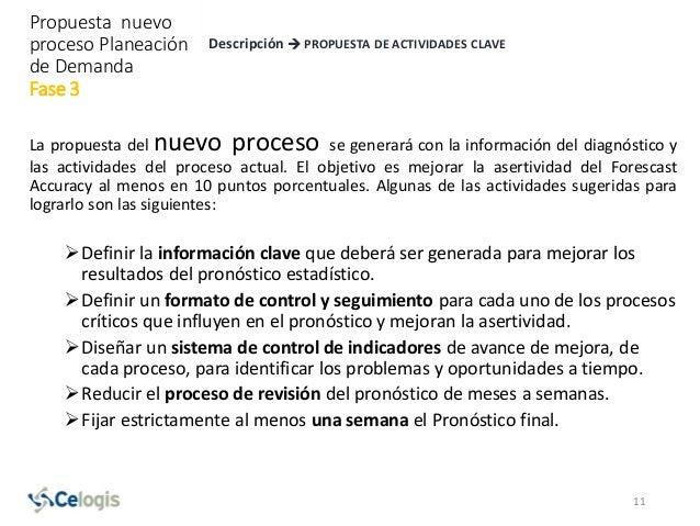 La propuesta del nuevo proceso se generará con la información del diagnóstico y las actividades del proceso actual. El obj...
