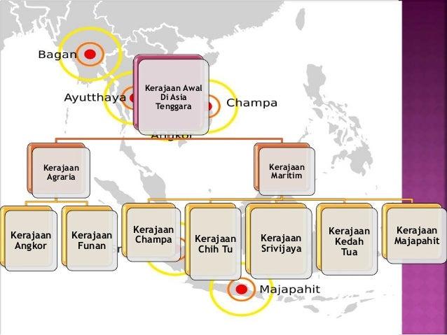 Kerajaan Awal Di Asia Tenggara Kerajaan Agraria Kerajaan Angkor Kerajaan Funan Kerajaan Maritim Kerajaan Champa Kerajaan C...