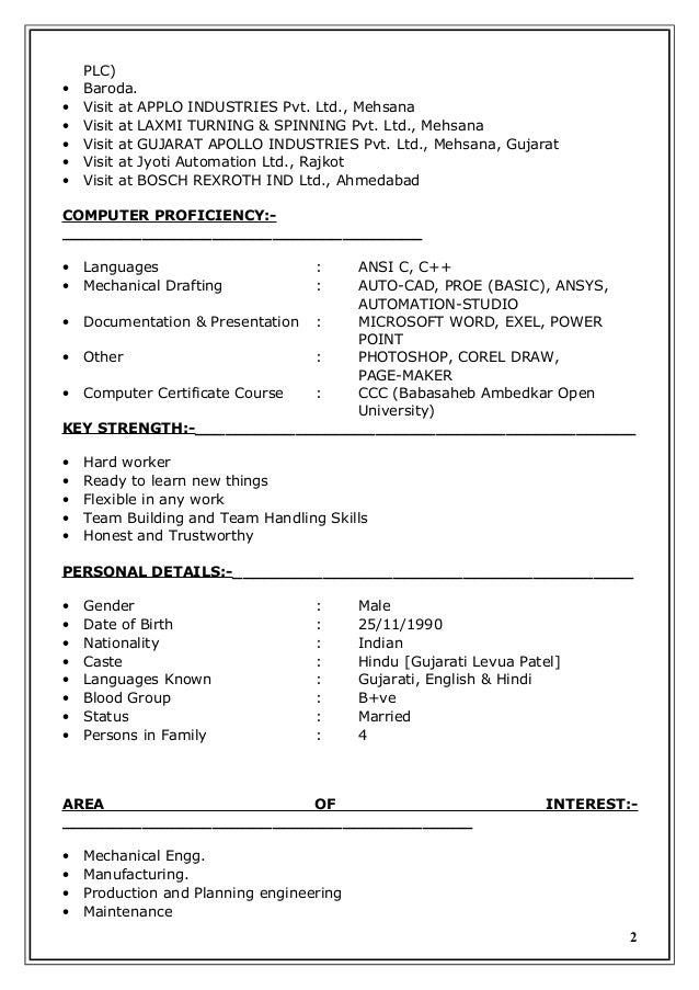 latest resume of gaurav b  kothiya doc