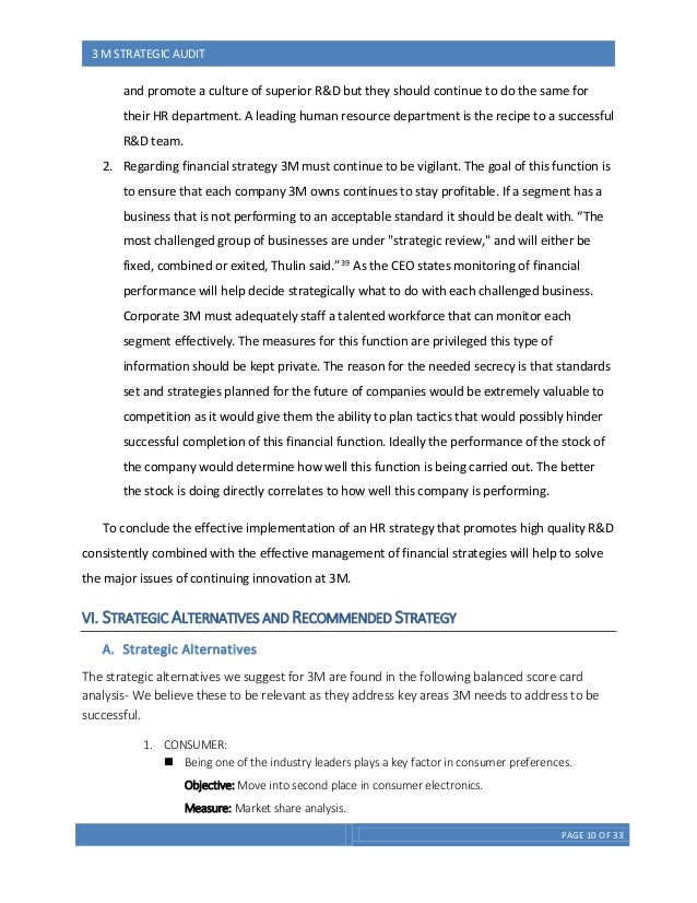 3m company business strategy 3m strategy: business and corporate values essay  business strategy in 3m  when the strategy allows a company's business to increase revenues or reduce cost .