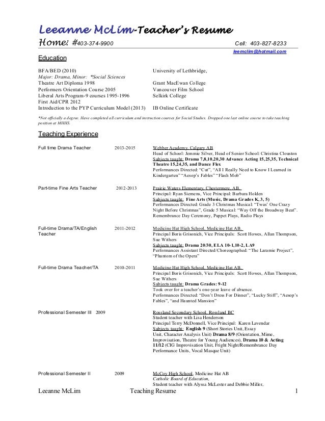 Updated Resume.Cv Leemclim
