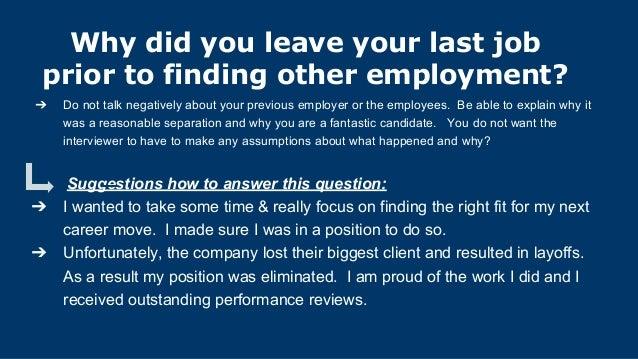 Amazing 31. Gap In Employment?