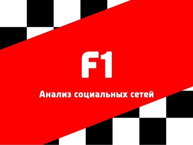 F1 в социальных сетях