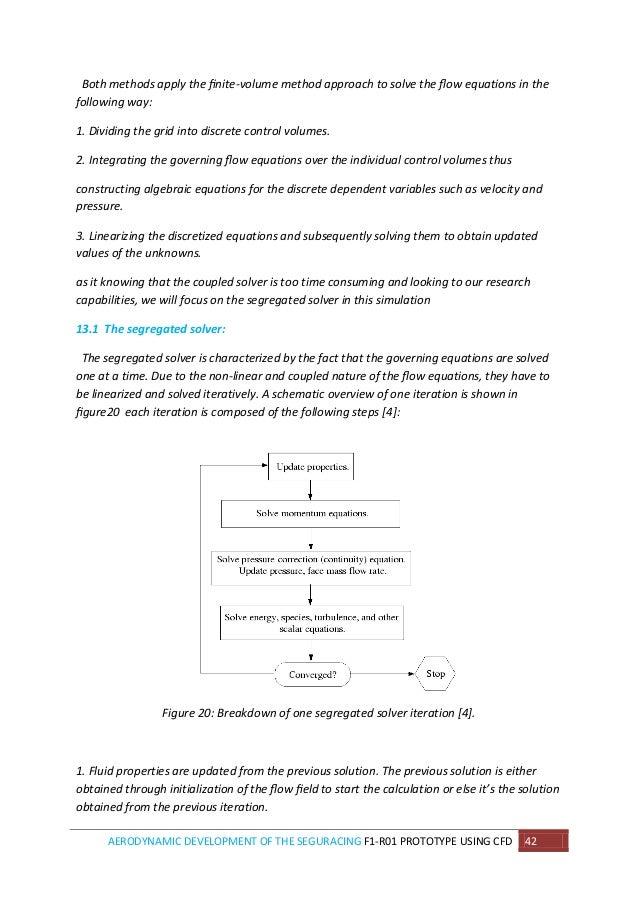 Control Volume Aerodynamic : Aerodynamic development of the seguracing f r prototype
