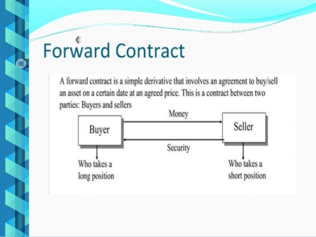 futures contract and option Futures contract based on an index ie the underlying asset is the index, are known as index future.