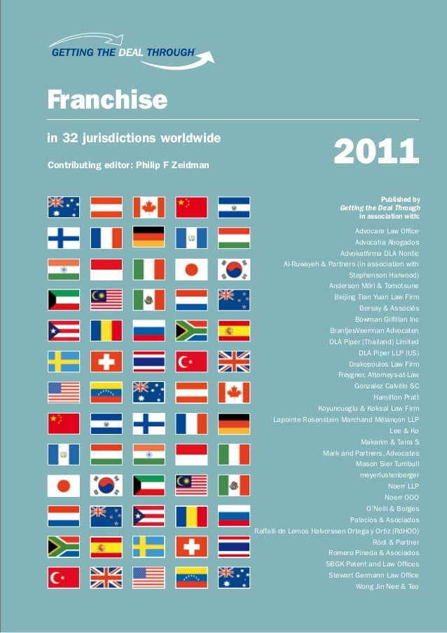 ®Franchise                                                                2011in 32 jurisdictions worldwideContributing ed...