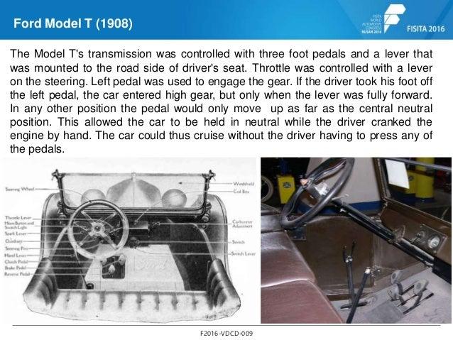 ford model t foot controls