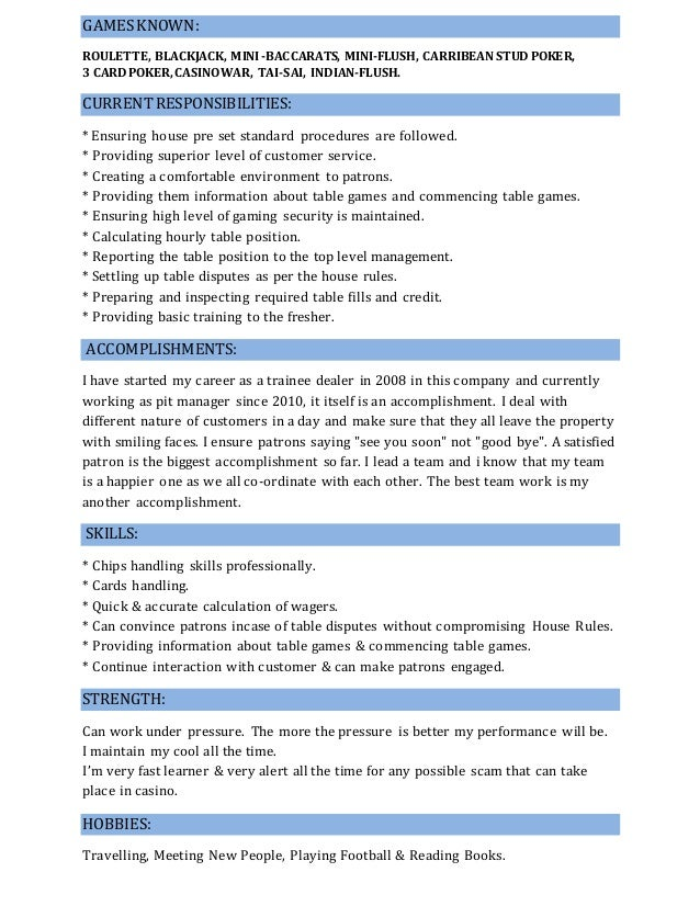 under the table jobs on resume