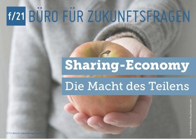 Sharing-Economy                                               Die Macht des Teilens                                       ...