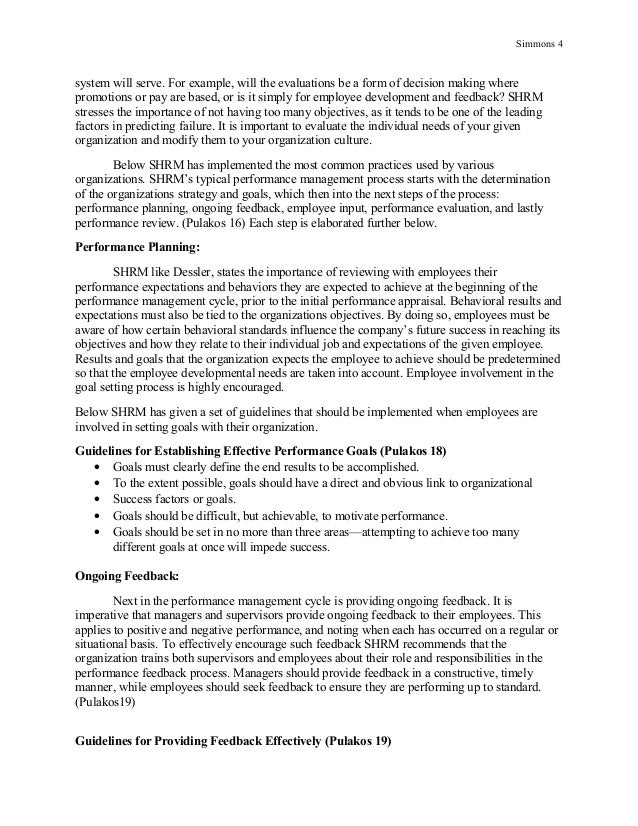 Research paper evaluation format   Online Writing Lab