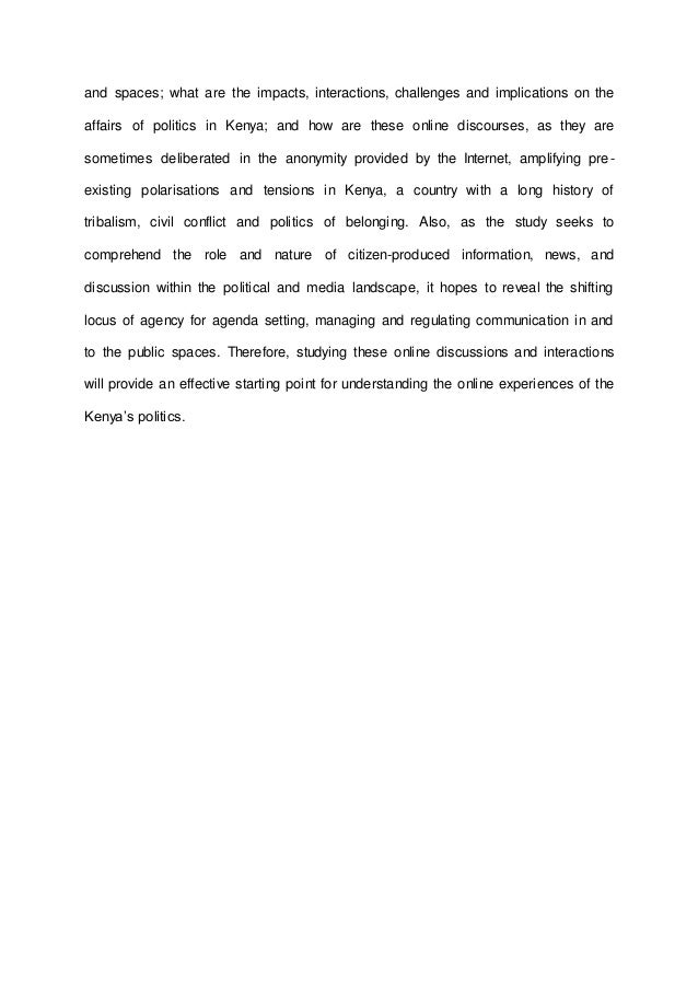 Abstract For Research Proposal