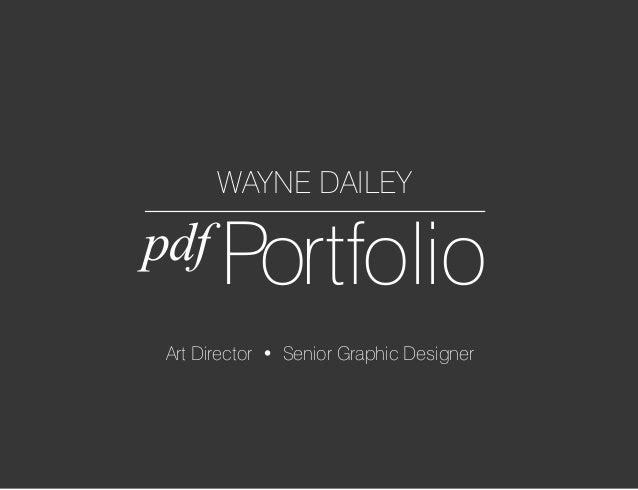 waynedailey portfolio