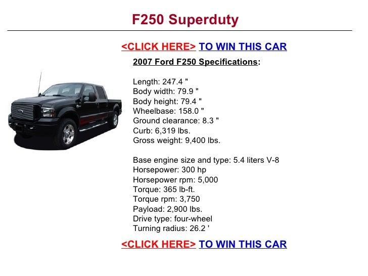 F250 Superduty