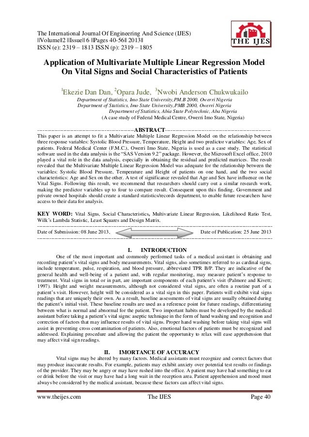 The International Journal Of Engineering And Science (IJES) ||Volume||2 ||Issue|| 6 ||Pages 40-56|| 2013|| ISSN (e): 2319 ...