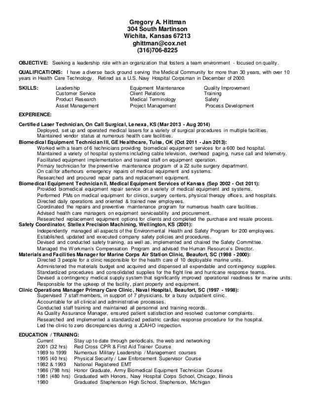 hospital corpsman resume - Boat.jeremyeaton.co