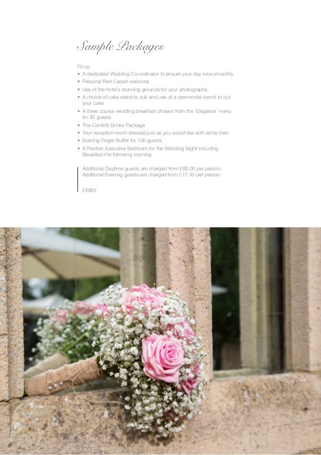 Bhh Wedding Brochure  New