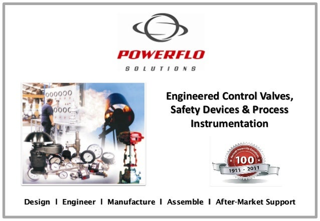 Engineered Control Valves, Safety Devices & Process Instrumentation Design l Engineer l Manufacture l Assemble l After-Mar...