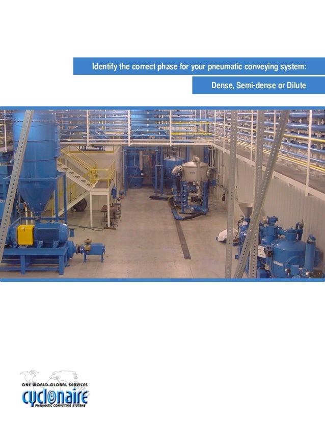 Identify The Correct Phase For Pneumatic Conveying