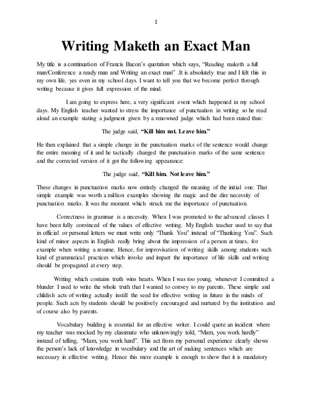 man in the water essay copy View man in the water from english 12 at holton high school running head: man in the water essay man in the water essay april utterback holton high school 1 man in the water essay 2 man in the.